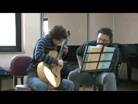 Master Class Aniello Desiderio - Angelo Gilardino Noche Oscura
