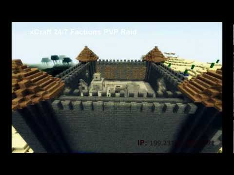 Minecraft 1.4.4 Cracked Faction/Raid/PVP Server 24/7 Includes SHOPS!! Diehard Pv
