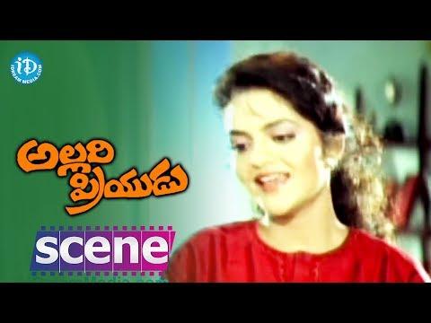 Allari Priyudu Movie Scenes - Madhubala reveals about her love...