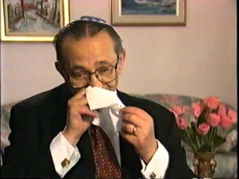 David Cuperfain - Steven Spielberg Holocaust Survivor Interview - Part 1/7