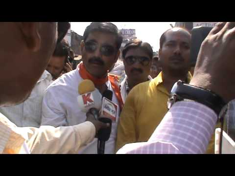 Rashtriya Janhit News Bjp Protest--Dinesh Kumar 3