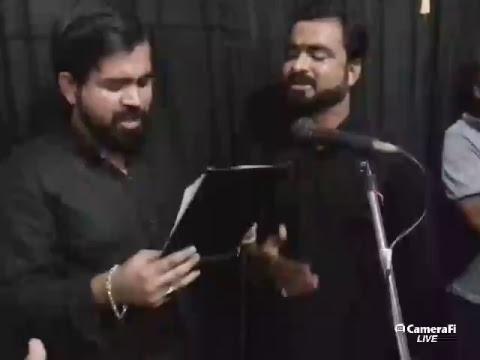 Azadari Channel's broadcast gopalpur sadat 3 moharram 1439 hijri