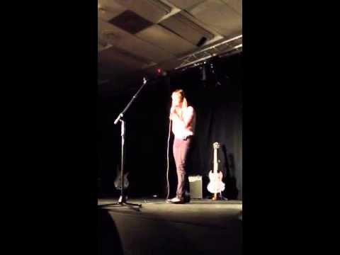 Seacrest Country Day school talent show 10/9/12 soloist