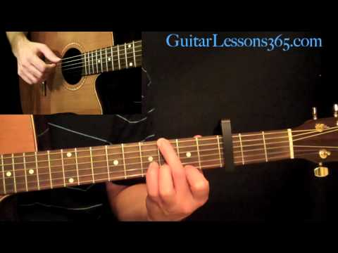 Fire And Rain Guitar Lesson - James Taylor - Guitar Lesson