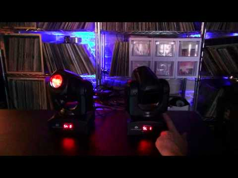 Moving Head Tech - Pan Tilt Inversion and Slave Modes