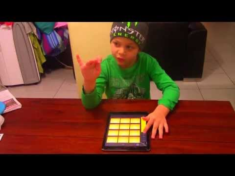Im 7 but I'm EPIC!!!!!!!!!!!!! (dubstep drum pads)