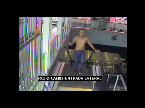 Video de las camaras de seguridad durante atentado metro de Santo Domingo [Completo]