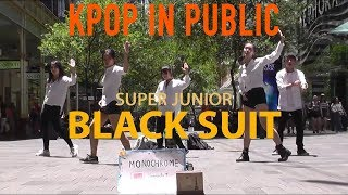 "[KPOP IN PUBLIC CHALLENGE SYDNEY] SUPER JUNIOR (슈퍼주니어) - ""Black Suit"" Dance Cover by MONOCHROME"