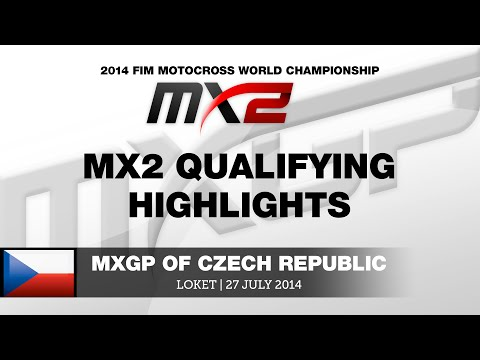 Mxgp Of Czech Republic 2014 Mx2 Qualifying Highlights - Motocross video