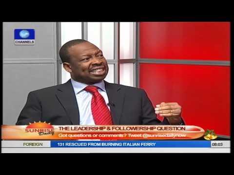 Obanya Says Nigerians Misconstrue Meaning Of Leadership Part3