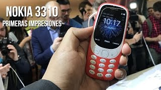 Hands On Nokia 3310 - MWC 2017