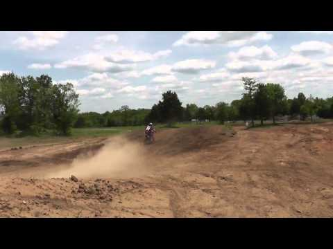Racing A Pitbike On A Full-Size Motocross Track - ROMP MX