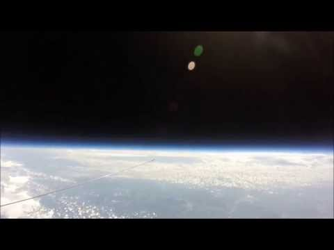 FLAT EARTH ADDICT 05 : 121,000 feet Little Piggy Cam High Altitude Balloon Flight