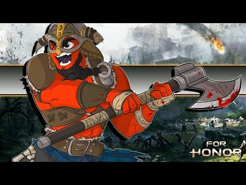 "For Honor | ""Vikings Are Total Badasses!"" (E3 Gameplay)"