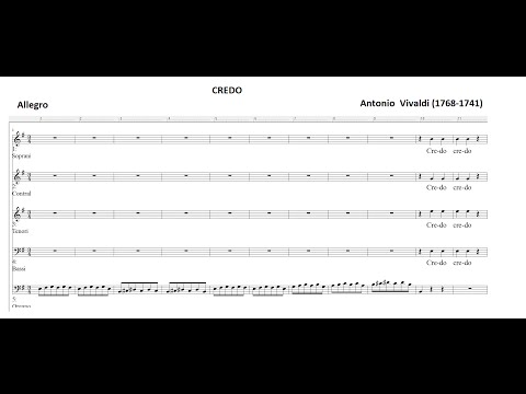 Вивальди Антонио - Credo