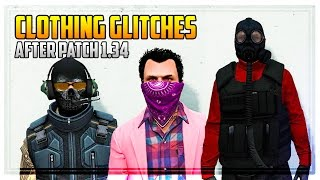 GTA 5 Online - ALL CLOTHING GLITCHES AFTER PATCH 1.34 (Finance & Felony)