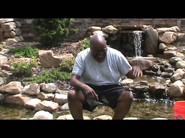 Comedian J Anthony Brown ALS Ice Bucket Challenge