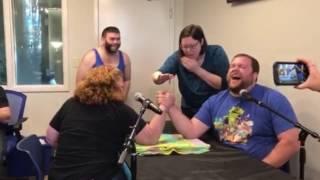 Men vs Women Arm Wrestling