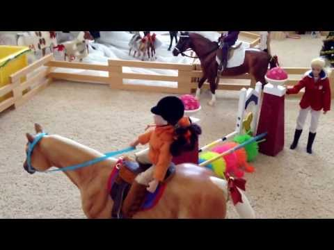 Christmas barn tour of Pine Forest Stable 2013 part 1