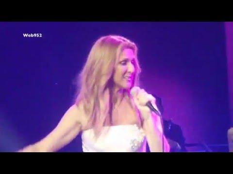 "Celine Dion - ""Kiss / Purple Rain"" HD - Mar 2nd live Las Vegas"