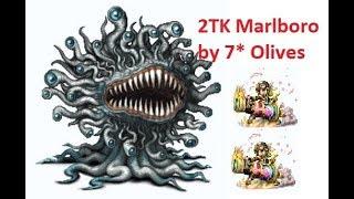 [FFBE] 2 turns kill Marlboro with 2x 7* Olives! So Easy!!