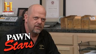 Pawn Stars: Rick Gets Owned | History