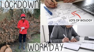 WORK DAY FROM HOME & FINALLY FIGURING OUT MY LIFE PLANS | PRODUCTIVE UK LOCKDOWN VLOG