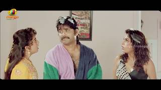 Download Nagarjuna and his twin brother messing with Ramya Krishna - Hello Brother Scenes 3Gp Mp4