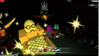 roblox the funny egg hads and things hats with red thing and XD
