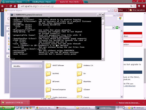 Dspace 4.2 Instalación N°2 - configuración de proxy e instalación de apache -ant