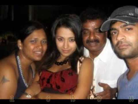 Simbu With Trisha Unseen Photos video