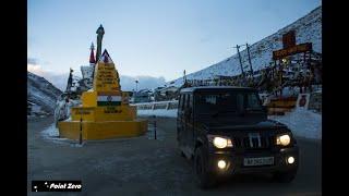 Chang-La Pass 17,590 ft | Chang-La to Leh #1  | Mahindra Bolero @ Northern Pass | Ladakh Road Trip