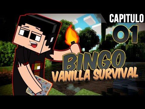 Minecraft: Mapa especial de Bingo a nivel HD Ep. 1