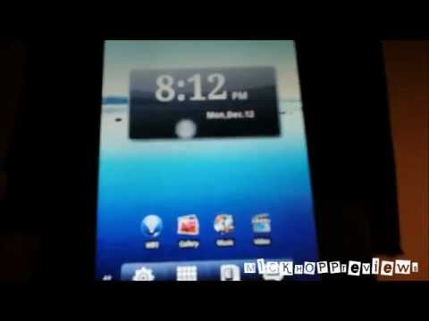 Nextbook Premium 7 Android 2.3 Tablet Unboxing