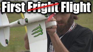 RC plane test f(r/l)ight
