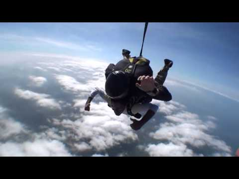 Anish, Rupin and Nirali - Skydiving in the Hamptons
