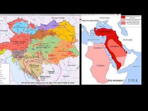 Империи накануне Первой мировой войны