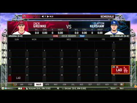 MLB 14 The Show: Live Stream (Franchise Mode Fantasy Draft)