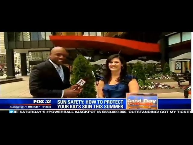 Sun Safety with Hollie Schultz on FOX Good Day Chicago