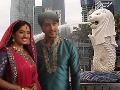 Sooraj & Sandhya's LOVE IN SINGAPORE in Diya Aur Baati Hum 25th May 2012