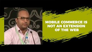 Mobile commerce is not an extension of
