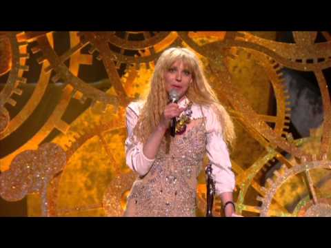 Ellie Goulding wins Critics Choice presented by Courtney Love | BRIT Awards 2010