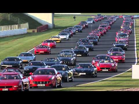 Largest Parade of Ferrari Cars World Record