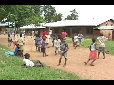 Children play at an orphanage in Rwanda, Africa. Stock Footage