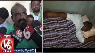 Speaker Madhusudhana Chary Participates In Palle Nidra In Velishala | Jayashankar Bhupalpally