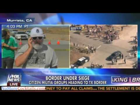 Protester pushing for civilian militia at border calls Obama the