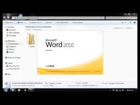 Como recuperar un archivo, no guardado en Microsoft Word