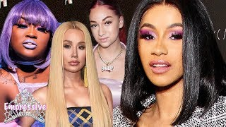 Cardi B Messy Drama At Her Fashion Nova Launch Party