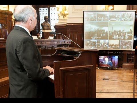 C�maras federales y superiores tribunales participaron de la presentaci�n del Plan de Capacitaci�n