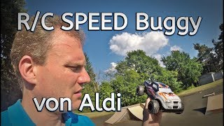 Aldi // R/C Speed Buggy // 2,4 Ghz // 1:18 // Review